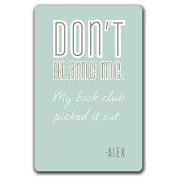 book club blame bookplates