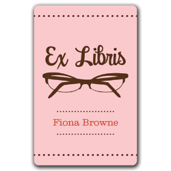 glasses bookplates