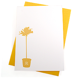 myrtle topiary stationery