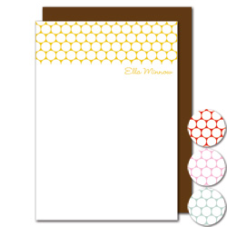 polka dots stationery