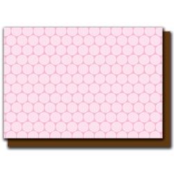 pink polka dots card