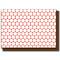 red polka dots card