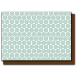 slate polka dots card