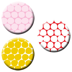 polka dot magnets