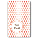 red polka dots bookplates