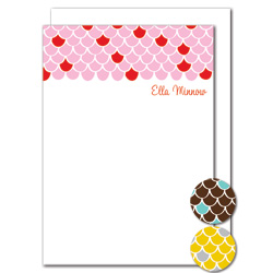 scallops stationery